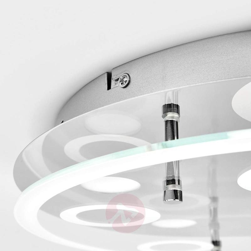5-light, round LED ceiling lamp Lio - Ceiling Lights