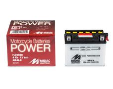 MB series free acid traditional batteries - Motorcycles