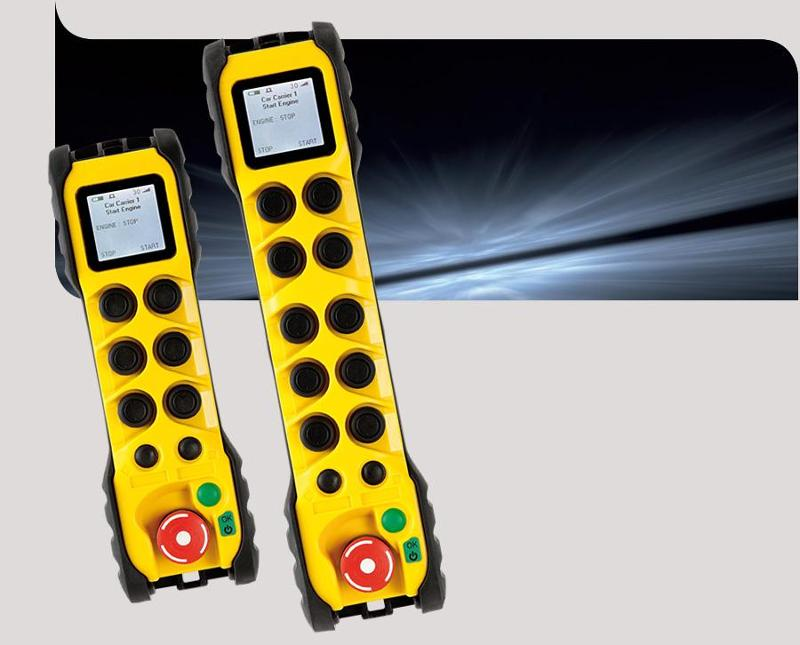 Safety radio remote control - Gama
