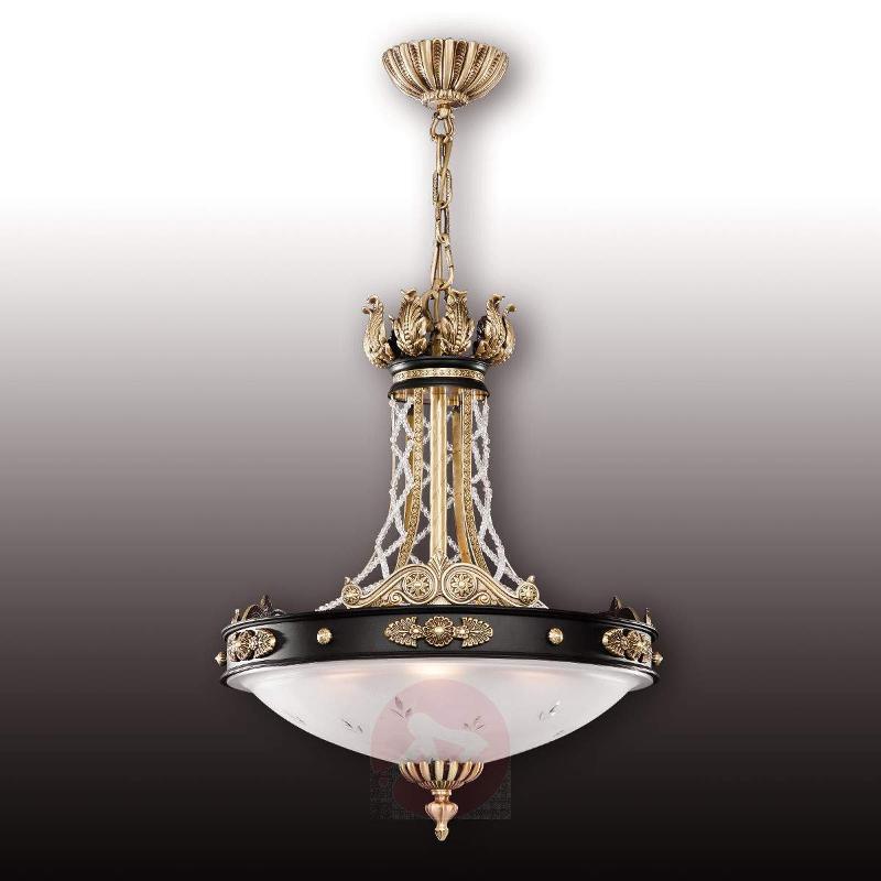 Tudor pendant light with Asfour crystals - Pendant Lighting