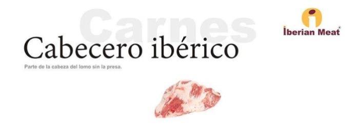 iberian meat cabecero suino iberico - iberian meat cabecero suino iberico