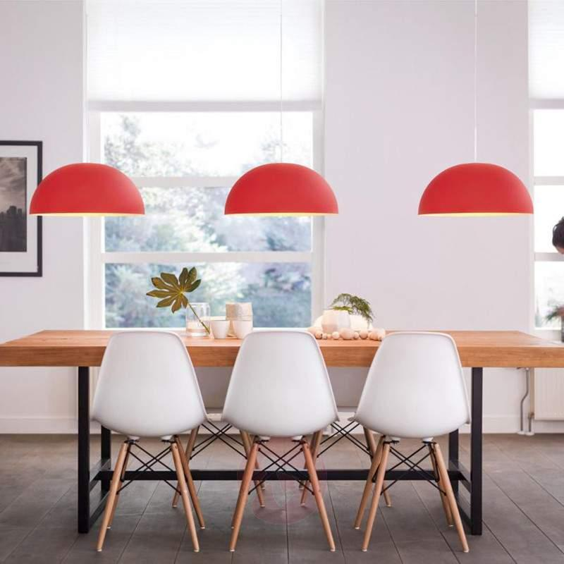 Red Rye metal LED hanging light - Pendant Lighting