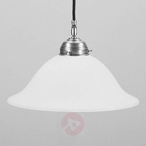 Anja hanging light matt nickel - Pendant Lighting
