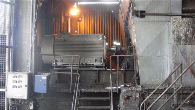 Alignement laser moto-ventilateur - Maintenance électro-mécanique sur site