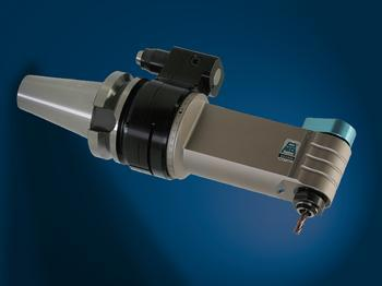 Input coolant from stop-block, and output through tool spindle. - TA10.PDL