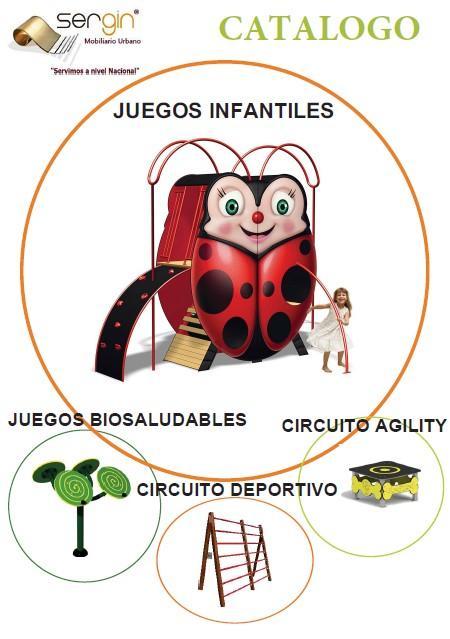 Parques infantiles y Biosaludables - Parques urbanos y privados. Certificados y seguros. También vallas biosaludables