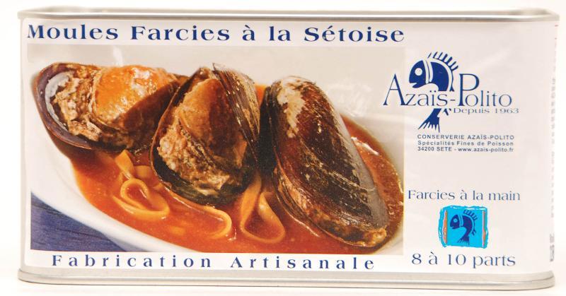 Moules Farcies 3/2 - Produits de la mer