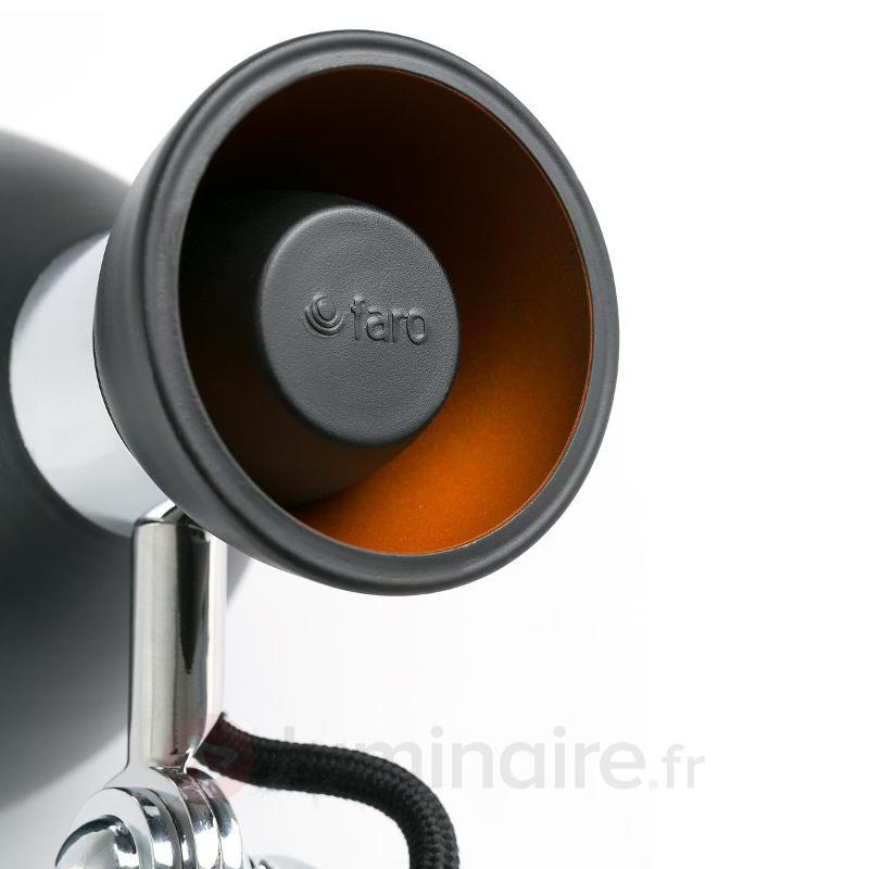 Retro - belle applique noire - Tous les spots et projecteurs