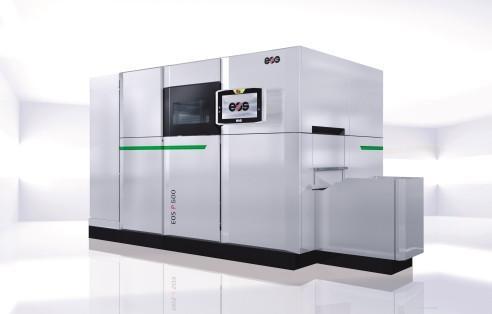 EOS P 500 - Die automatisierbare Fertigungsplattform zum Laser-Sintern von Kunststoffteilen