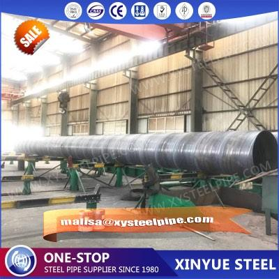 Piling Pipes-EN10219 SSAW Welded Steel Pipes - SSAW,Black or bare or 3PE, Out Diameter: 219.1mm –3048mm, delivery time:20-90d