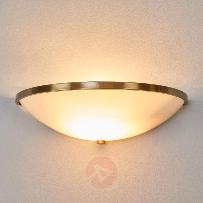 Tayla Wall Light Elegant Old Brass Look - Wall Lights