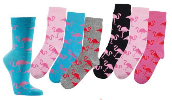2164 - Cotton Ladies Socks - huge design variety in our webshop!