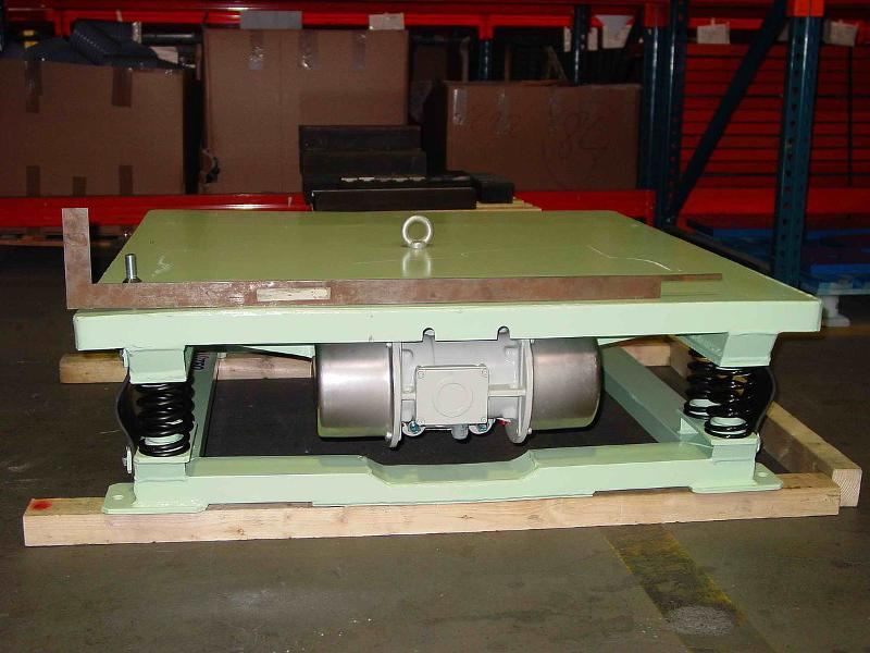 Vibrating table, hopper vibrator - Compacting, loosening - Conveying technology