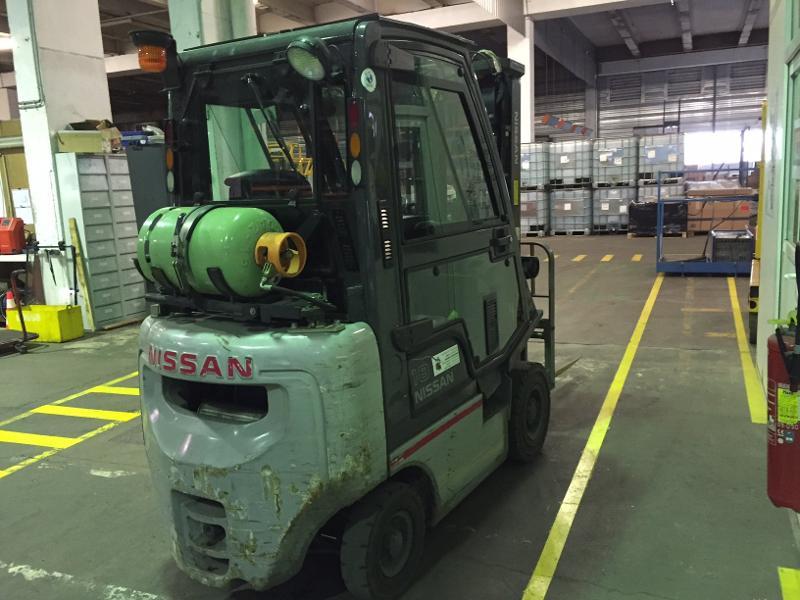 Chariot élévateur diesel Unicarriers DX18G - Matériels d'occasion