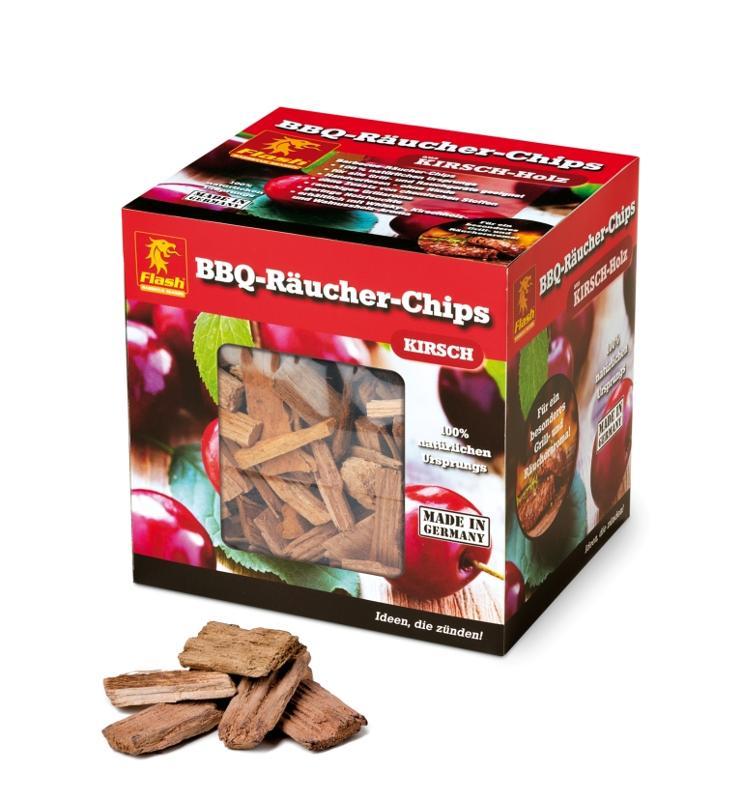 FLASH Räucher-Chips Kirsche 500 g - null