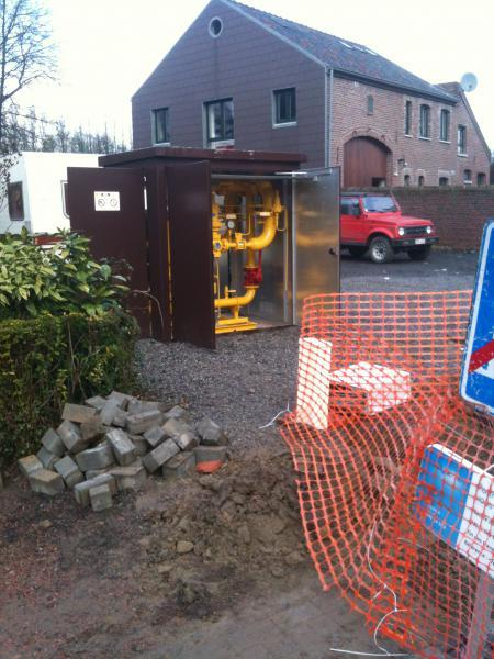 Installations gazières - 5 à 15 bars - Services dédiés uniquement à la Belgique (Wallonie, Bruxelles)