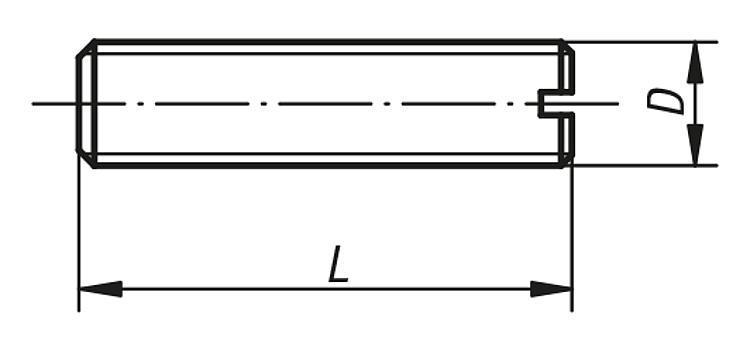 Tige filetée DIN 551 - Vis à patin et patins