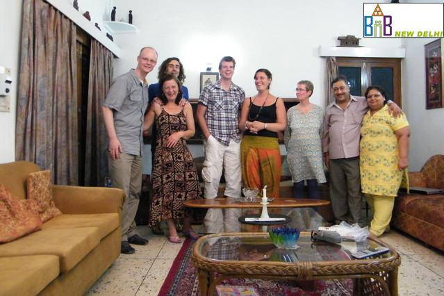 Chambres d'hôtes à New Delhi - Hébergement à Delhi