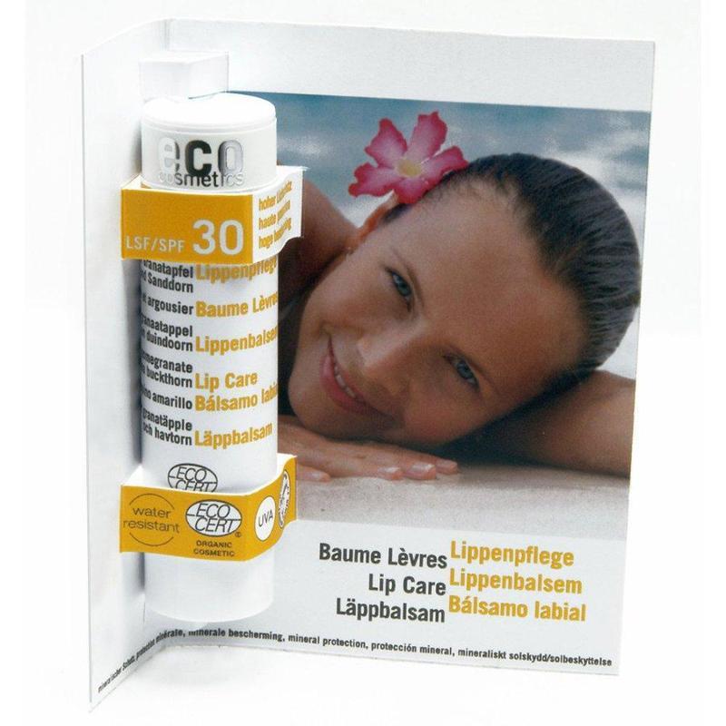 ECO Lippenpflegestift LSF 30 - 4g transparent mit... - null
