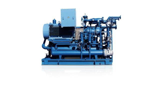 AERZEN Verdichteraggregat VMY für Kältetechnik - Öleingespritzte Schraubenverdichter, Baureihe VMY