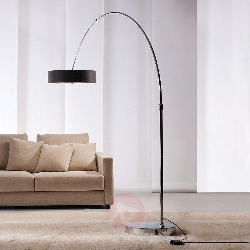 Exclusive floor lamp Iris - Arc Lamps