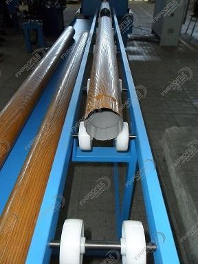 Линия производства водосточной трубы