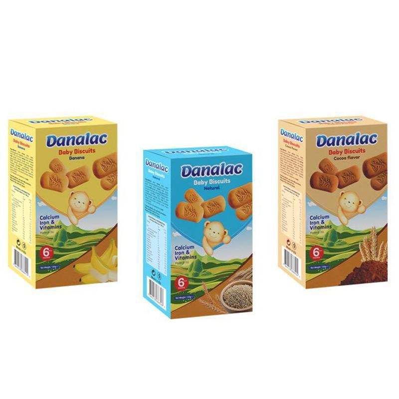 Biscoitos DANALAC de dentição para bebês
