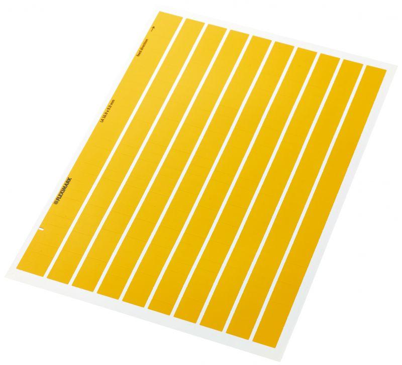 Self-adhesive markers - Self-adhesive markers for component marking in the electrical industry