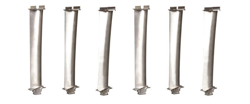 Titanium Aluminide Turbine Blades