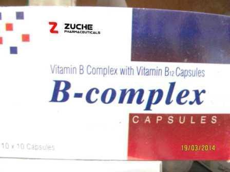 Vitamin B Complex with Vitamin B12 Complex - Vitamin B Complex with Vitamin B12 Complex