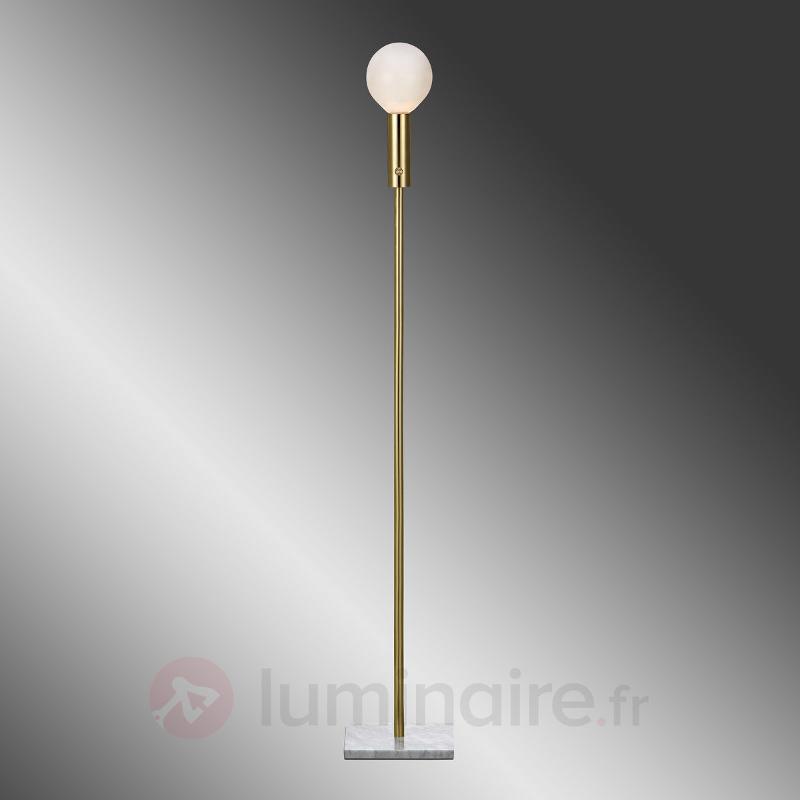 Lampadaire Marble en forme d'ampoule - Tous les lampadaires