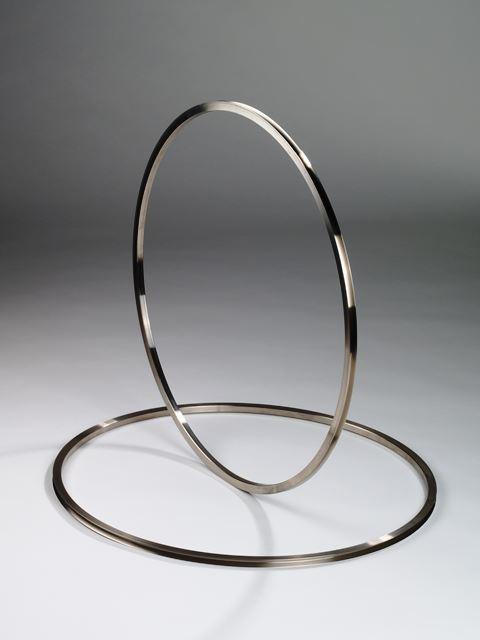 Nickel Band ,Kontakt Band,Laufring,Glühband, Glühring - Nickel Band - Ersatzteil für Durchlaufglühen- 99,2% Nickel, hart, Nickel 200