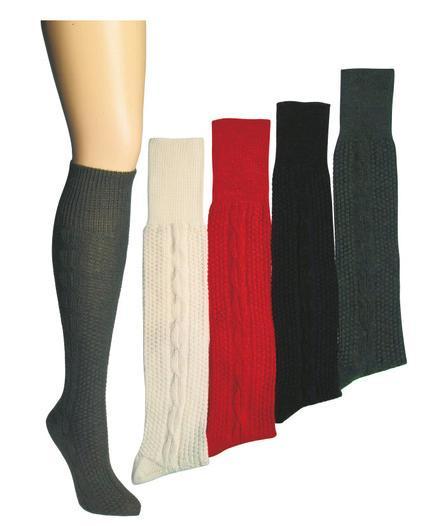 Kniebundhosen-Strümpfe in Farbig - null