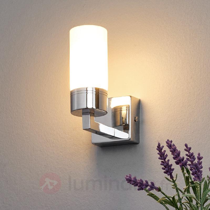 Applique salle de bains Stine, chromé brillant - Salle de bains et miroirs