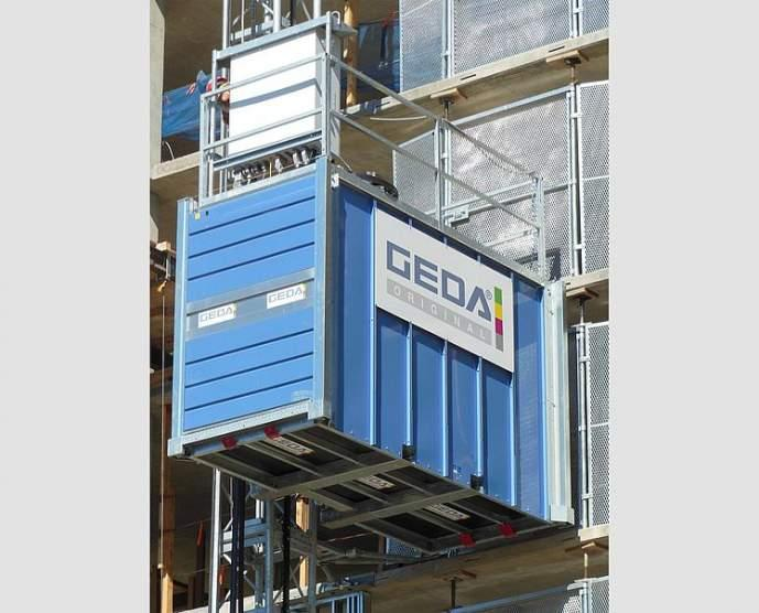 GEDA PH 2737 - GEDA PH 2737 - Personnel and Material Hoists