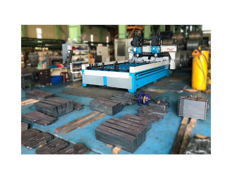 CNC plate drilling and tapping machine - Drill+ 1020/1640