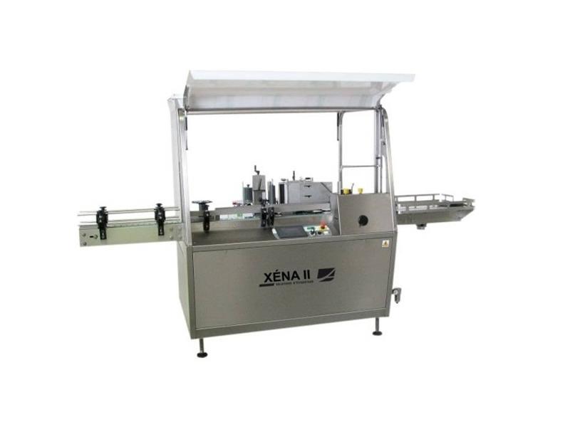 Etiketteermachine voor ronde producten en andere vormen: XENA II - Automatische etiketteermachines