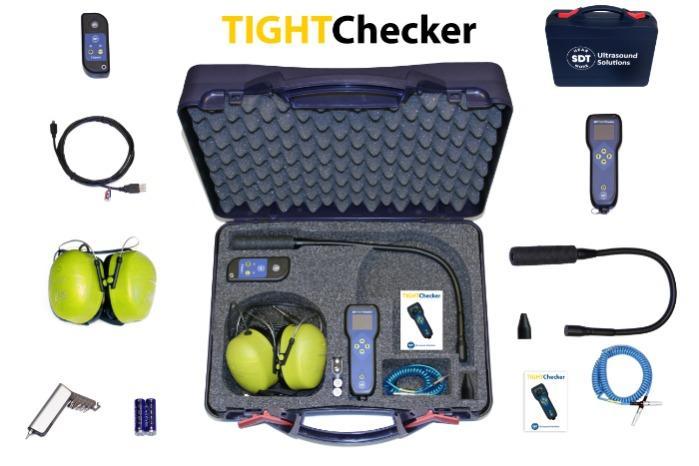 TIGHTChecker - Vérifiez l'étanchéité de vos volumes clos.