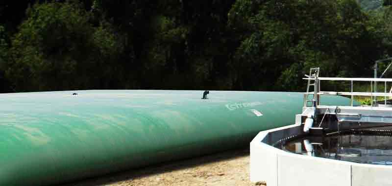 Citernes souples pour effluents -