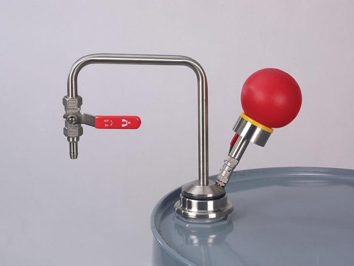 Adaptateur fileté universel - Adaptateur fileté pour des ouvertures de 48-75 mm.