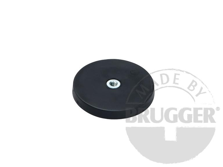 Magnet assembly, NdFeB, rubber coat noir, with... - null