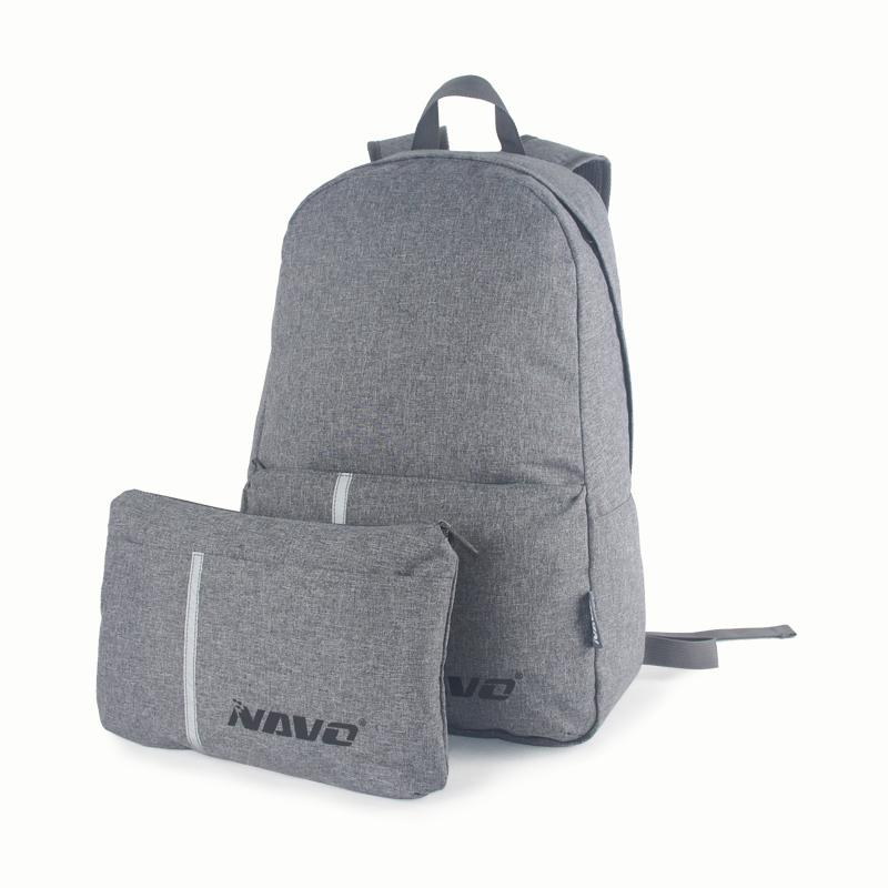 Super light completely foldable backpack