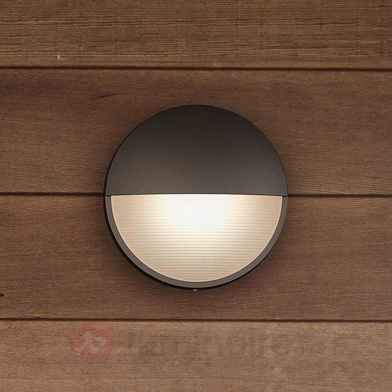 Applique LED anthracite Capricorn, IP44 - Appliques d'extérieur LED