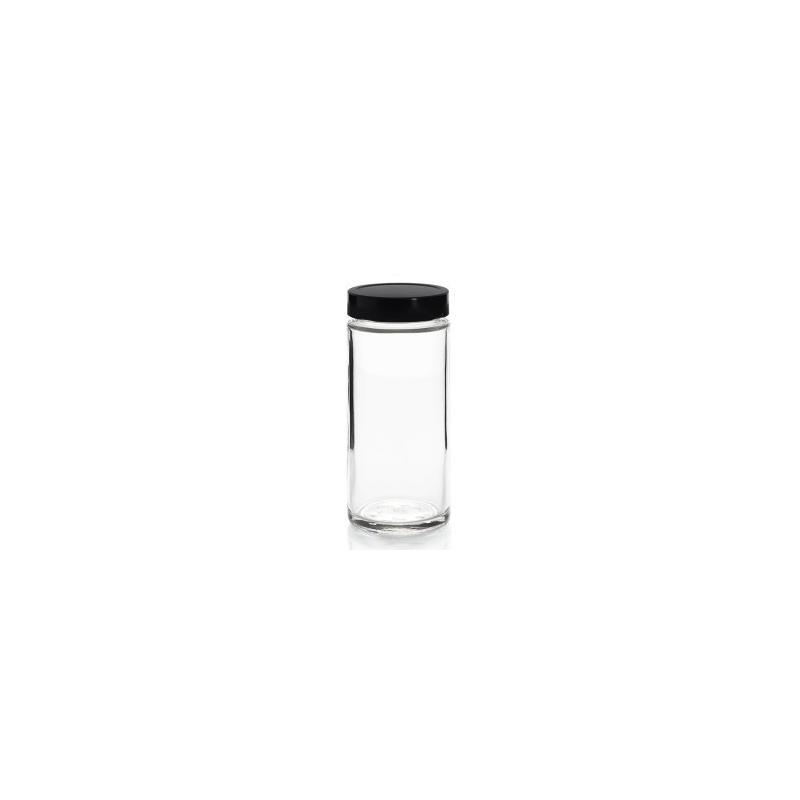 10 capsules DEEP Ø 76 mm Noires pasteurisables - CAPSULES DEEP