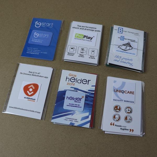 Sticky screen cleaner - Sticky screen cleaner with print