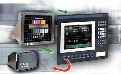LCD/TFT мониторы  - для промышленного оборудования