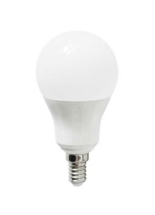 Lampadine LED E14 - 6/7/8/9W opaca 3000/6400K 450/490/560/640/720lm