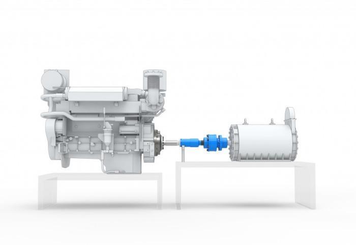 Adaptives TOK Kupplungs-System - Adaptives TOK-Docking-System zur Motorprüfung