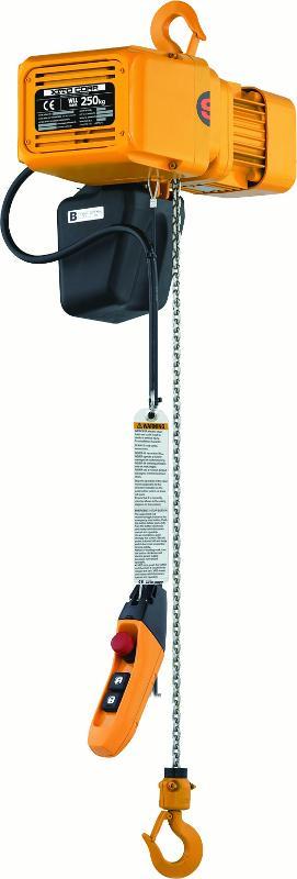 Palans électriques à chaîne - usage intensif - Palan KITO ER2 (avec crochet de suspension)