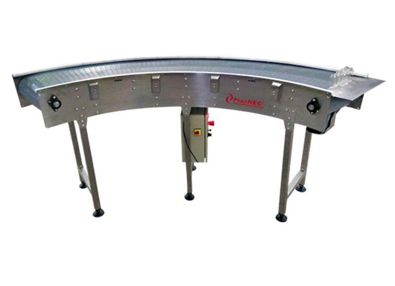Transportador Industrial - ModuCURVE® - Transportador Industrial PlasNEC®